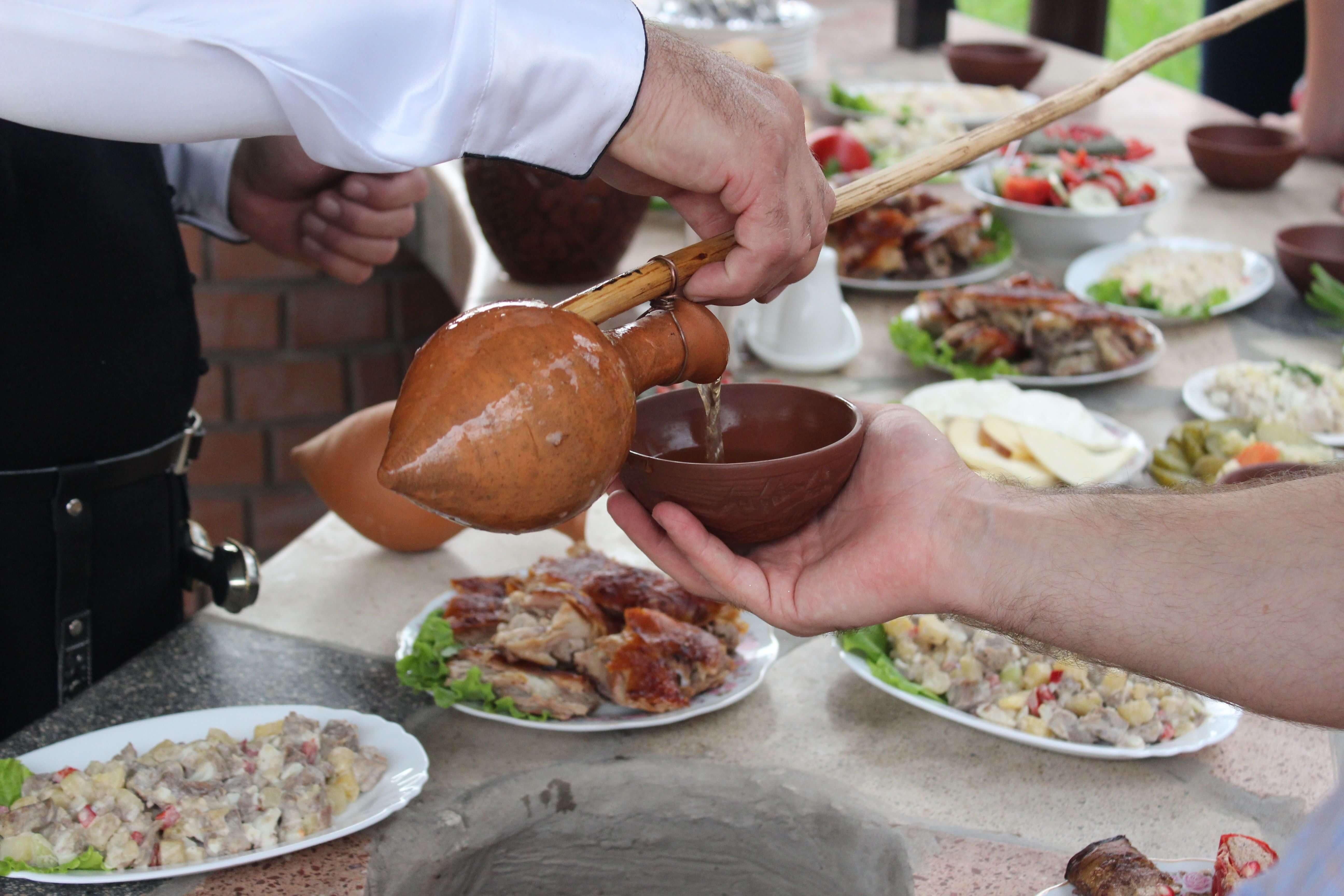 Georgische Tischkultur