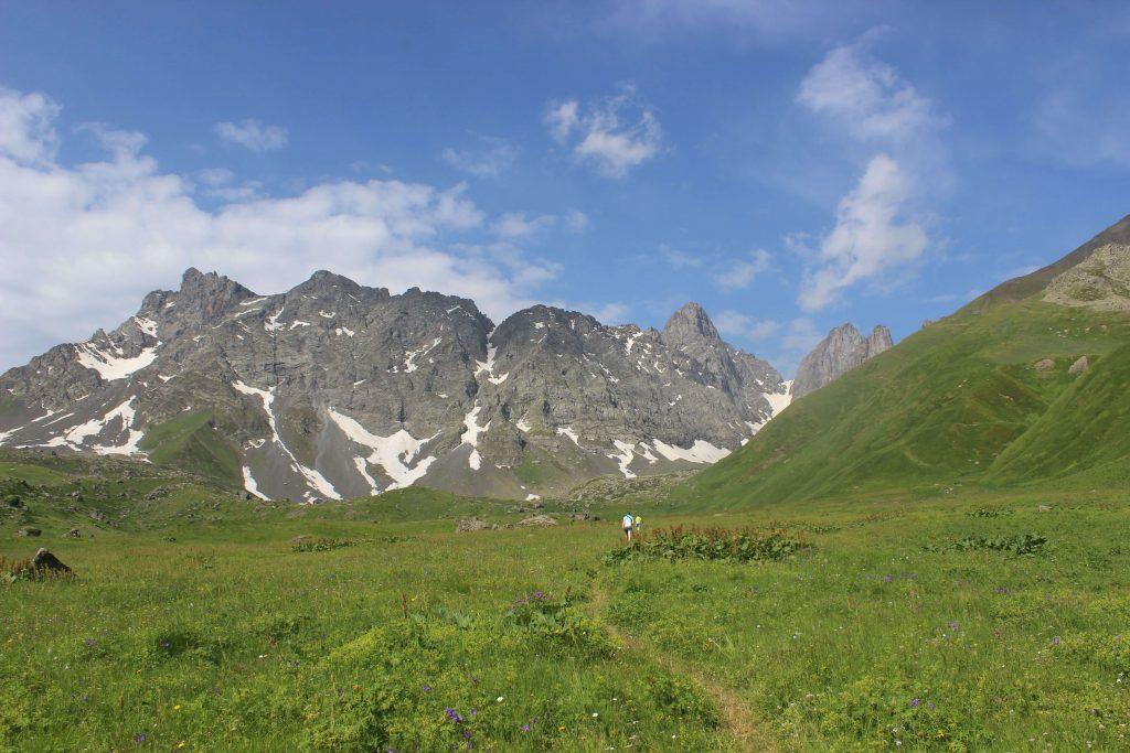 Wanderung in Chewsuretien