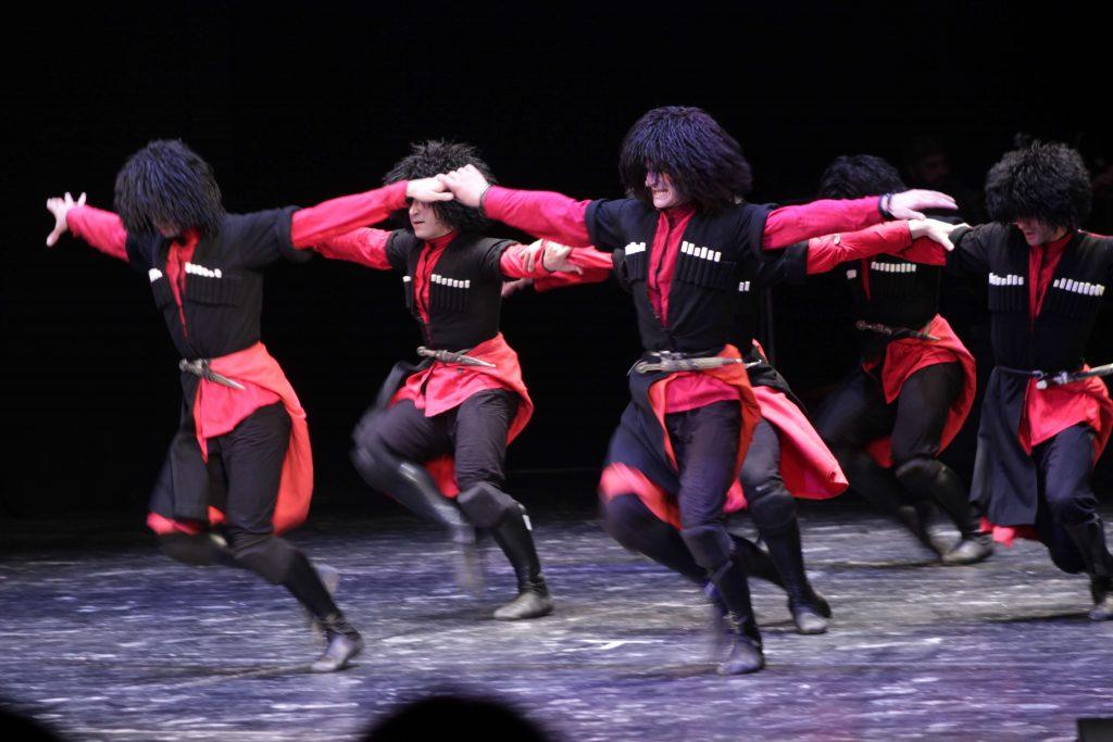 Georgische Tanzen