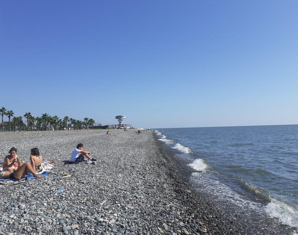 Strand in Anaklia